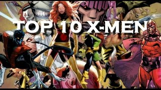 TOP 10 X-MEN