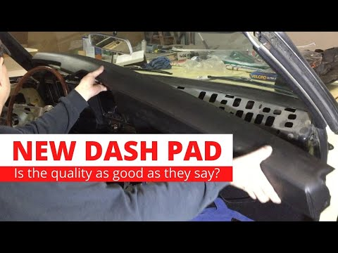 1969 Camaro RS Convertible. New SHOW QUALITY Dash Pad, Is It? Install Dash And Interior.