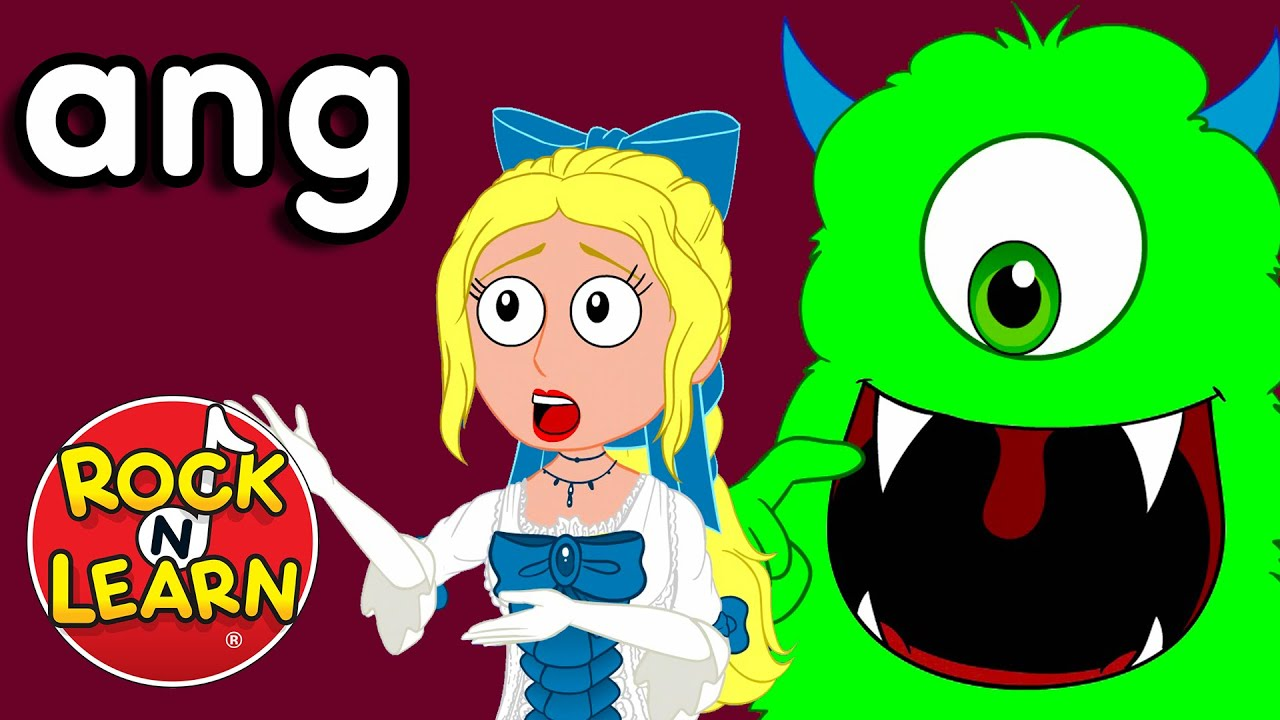 ANG Ending  Sound | ANG Song and Practice | ABC Phonics Song with Sounds for Children