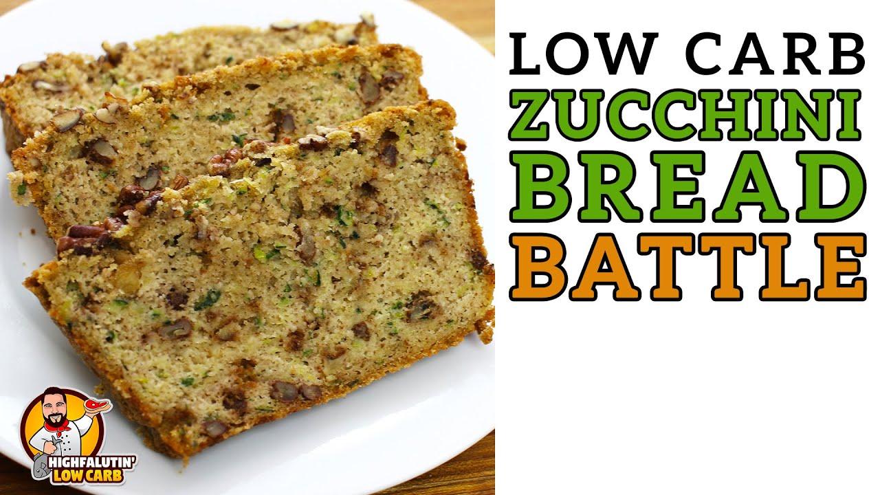 Low Carb ZUCCHINI BREAD Battle - The BEST Keto Zucchini Bread Recipe!