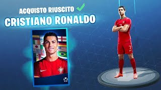Cristiano RONALDO on FORTNITE! REAL Mobile VITTORY