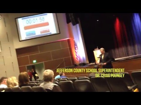 Jefferson County Superintendent at Public Hearing on Special Education Regulation Changes