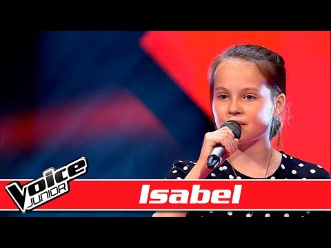 Isabel synger: Birdy - 'Not about angels' - Voice Junior / Blinds