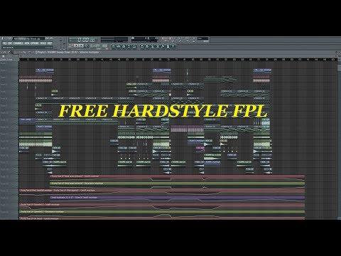 FREE HARDSTYLE FLP  2018 !!!!  link in the description