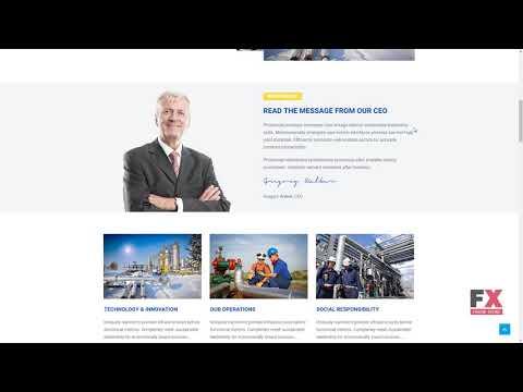 Offshore - Industrial Business Responsive WordPress Theme TMT Jayden