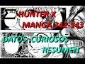 Hunter X Hunter  Resumen 3 (342/343) - Continente Oscuro   Curiosidades   KAISER-Z