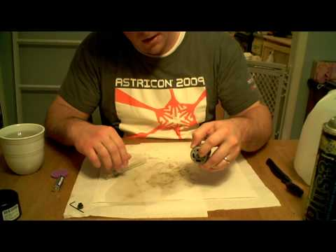Custom Ride Ons - How to clean and lube a brushed electric motor - Hozian - Modified Power Wheels