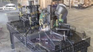видео Столы сварочно-сборочные (ССМ-01-07...ССМ-01-10)