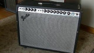 Power Tube SCREAMS Like a Monkey!  - Fender Twin Reverb Service
