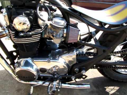 bratstyle xs650 bobber chopper