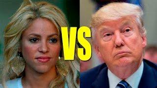 La reacción de Donald Trump contra Shakira que despertó el agarrón más mediático de todos