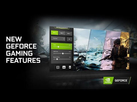 New GeForce Gaming Features: ReShade, Low Latency, and Image Sharpening