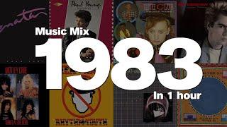 1983 in 1 Hour - Top hits including: Pat Benatar, Paul Young, Culture Club, Nik Kershaw and more!