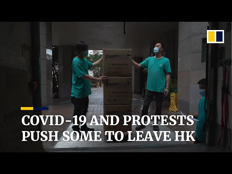 How Covid-19 And Anti-government Protests Are Convincing Some To Leave Hong Kong