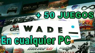 WADE - EL SERVICIO DE VIDEOJUEGOS POR STREAMING MÁS BARATO | + DE  50 JUEGOS EN CUALQUIER TIPO DE PC