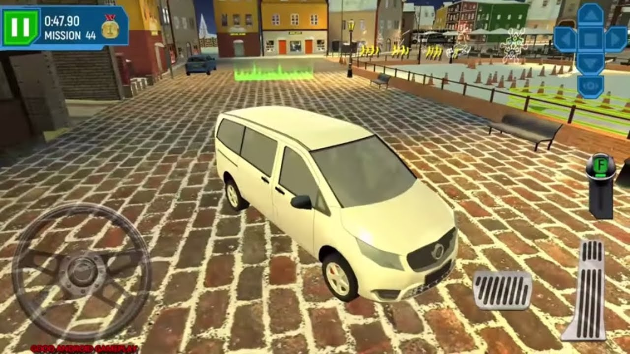 ski resort driving simulator 9 real mpv van vehicle. Black Bedroom Furniture Sets. Home Design Ideas