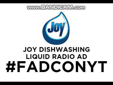 Joy Concentrated Dishwashing Liquid Radio AD 2019