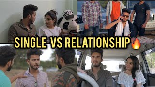 LIFE SINGLE VS RELATIONSHIP | Elvish Yadav |