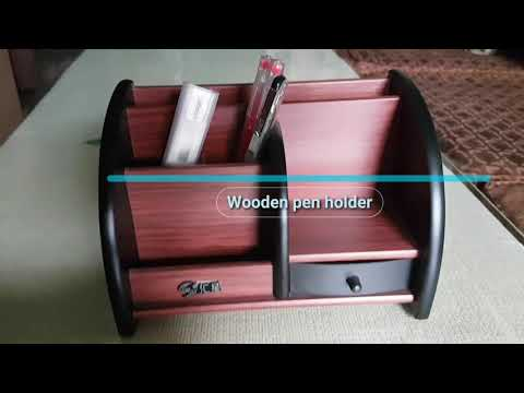 Wooden pen holder Intro