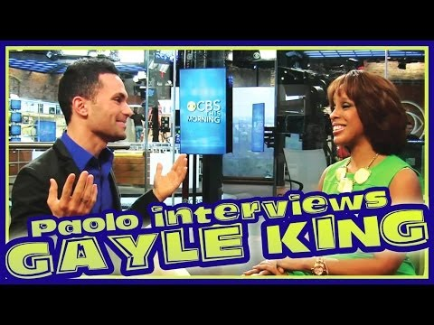 Gayle King On Her 1st Week at CBS This Morning