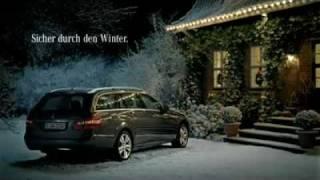 Frohe Weihnachten 2010: Gans toll, das Mercedes Weihnachtsmärchen!