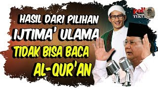 Mem4lukan, Kubu Prabowo Tolak Undangan Tes Baca Al-quran, Jagoan Itjima Ulama Tak Bisa Baca Al-quran