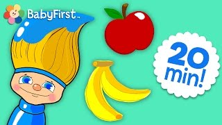 Red, Blue, Green & More Colors | Color for Kids | Petey Paintbrush | BabyFirstTV