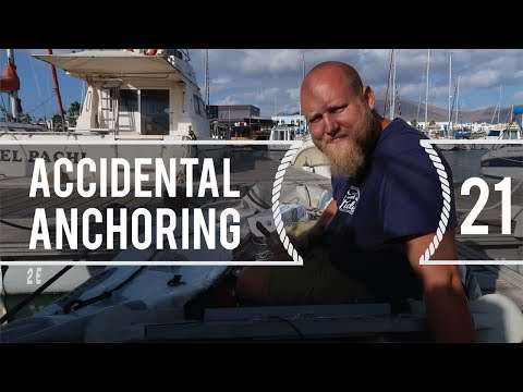 Sailing Around The World - Accidental Anchoring - Living Wit