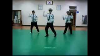 Korean Traffic Police dancing to TELL ME (Wonder Girls)