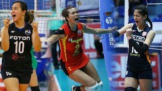 Top 15 Monster Running Attacks | PHILIPPINE WOMEN'S VOLLEYBALL TEAM