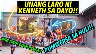 UNANG LARO NI KENNETH SA DAYO!! - PUMWERSA SA HULI - ANG TINDI DUMEPENSA | S.2. vlog 176