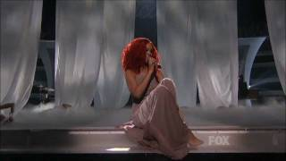 rihanna   california king bed live at american idol   california king bed directo best performance