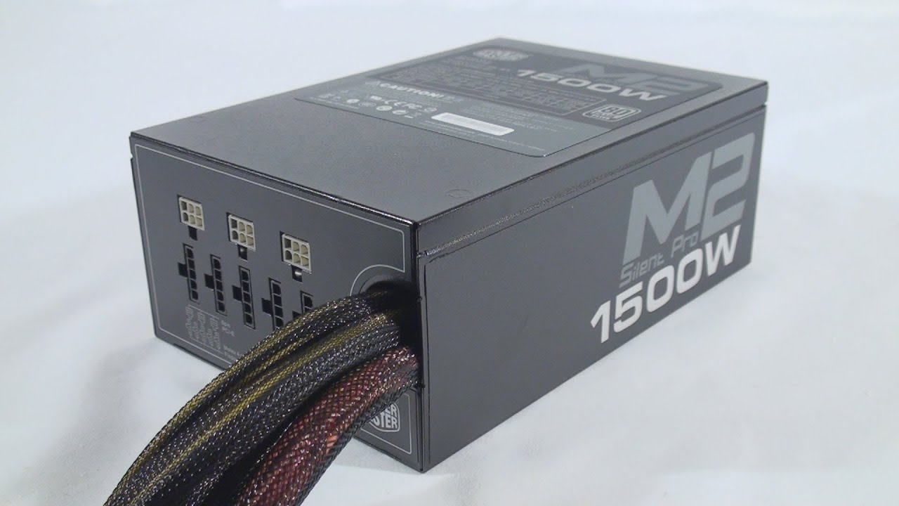 1351 cooler master silent pro m2 1500w power supply video review youtube. Black Bedroom Furniture Sets. Home Design Ideas