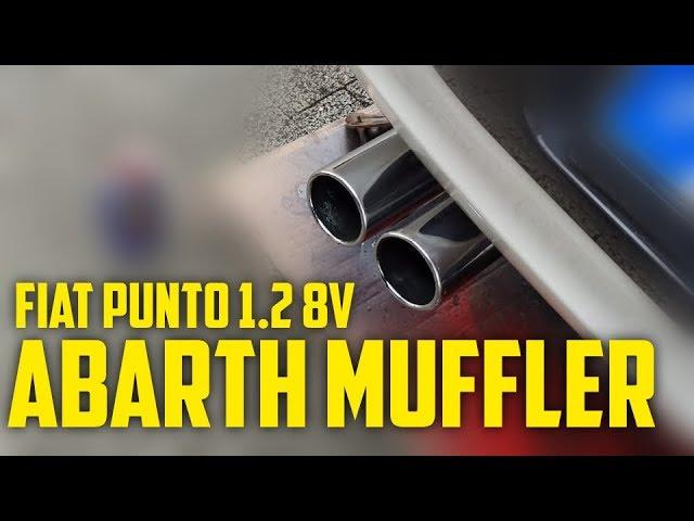 Fiat Punto Evo (1.2 8V) Abarth Muffler