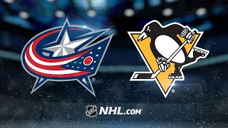 Pens storm back in the 3rd, edge Blue Jackets in SO