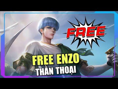 Free trang phục ENZO thần thoại mới 100% bậc SS hay A - Chuỗi sk sinh nhật 4 tuổi Liên Quân Mobile