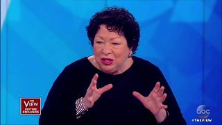 Justice Sonia Sotomayor On Sen. McCain, Puerto Rico And More | The View