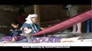 Karen Traditional Weaving and Embroidery Thumbnail