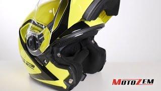 Vyklápěcí přilba na motorku LS2 FF325 Strobe Civik Hi Vis