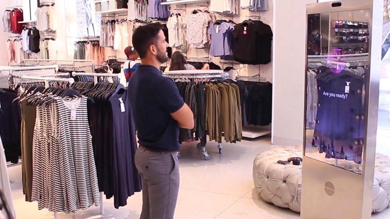 new york city: shoppen mit dem sprechenden spiegel
