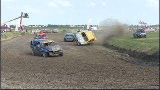 Autocross Makkum 23-6-2019 Crashes