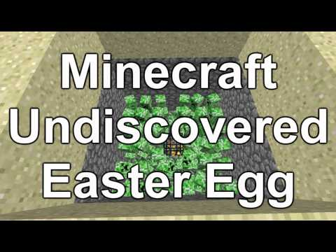 Minecraft - Undiscovered Easter Egg - SUPER SECRET! - YouTube