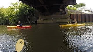 Radio Recess - WGN Radio goes kayaking
