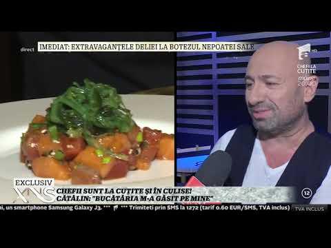 Cătălin Scărlătescu: În familia Chefi la cuţite doi cântă şi unul găteşte! Eu sunt acela
