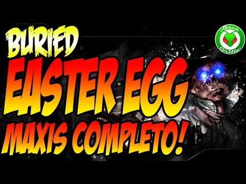 """""""BURIED"""" Easter Egg MAXIS - """"Mined Games"""" Completo PASSO a PASSO (PT-BR) Primeiro BR"""