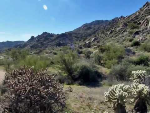 Marcus Landslide hike, McDowell Mountain Park - Pa by A Romain