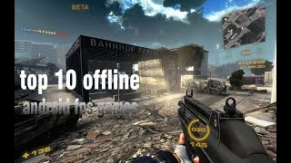 NO INTERNET? No Problem! Top 10 New OFFLINE ANDROID FPS games
