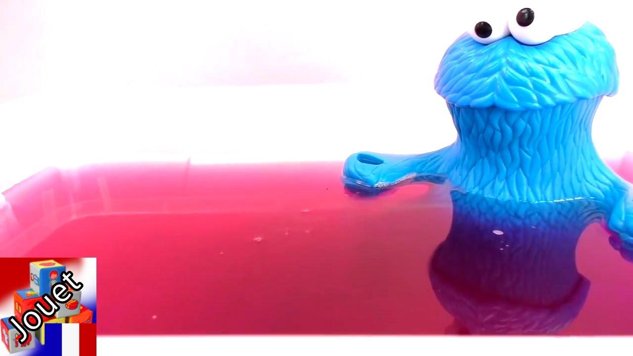 Pate A Modeler Pour Le Bain : démo oeufs surprises magiques tinti avec le monstre qui dévore tout – jeu  pour le bain tinti