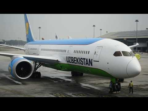 Uzbekistan Airways Introduces Boeing 787-8 Dreamliner Aircraft For Tashkent-Kuala Lumpur Route