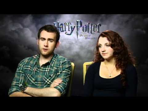 Michael Doherty interviews Matthew Lewis and Evanna Lynch